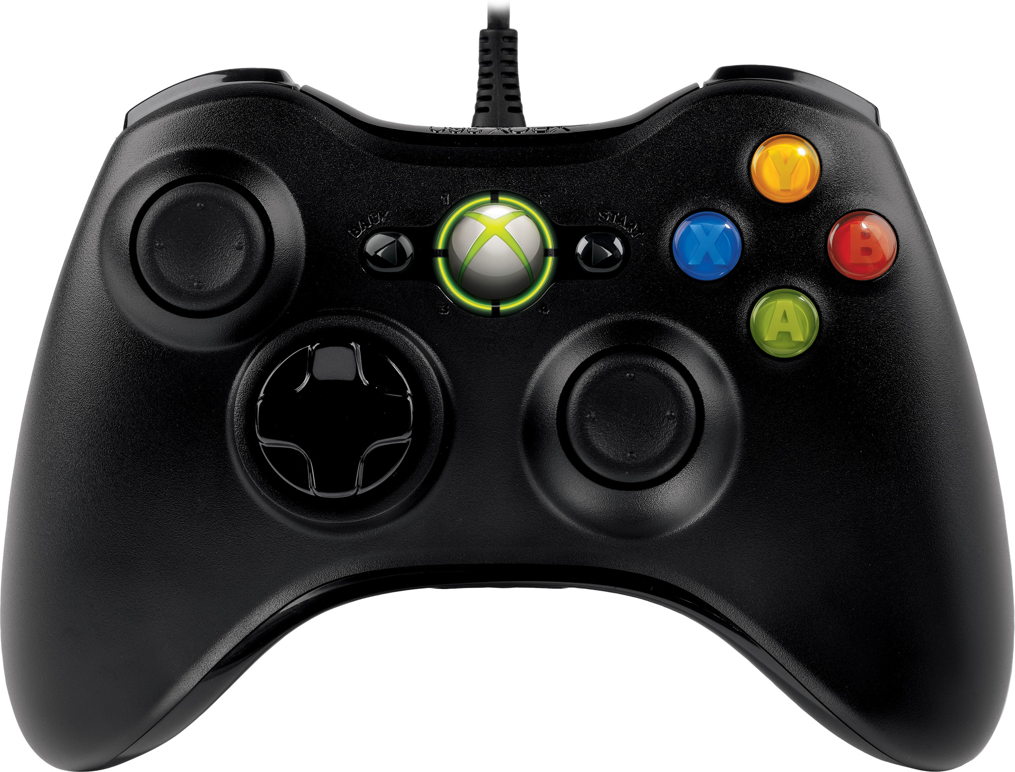 Microsoft PC and Xbox 360 Wired USB Controller