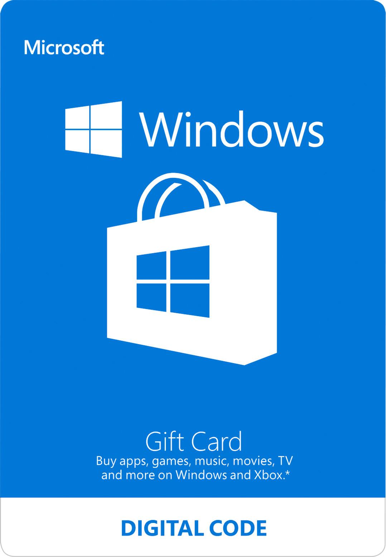 Windows Store Digital Gift Card