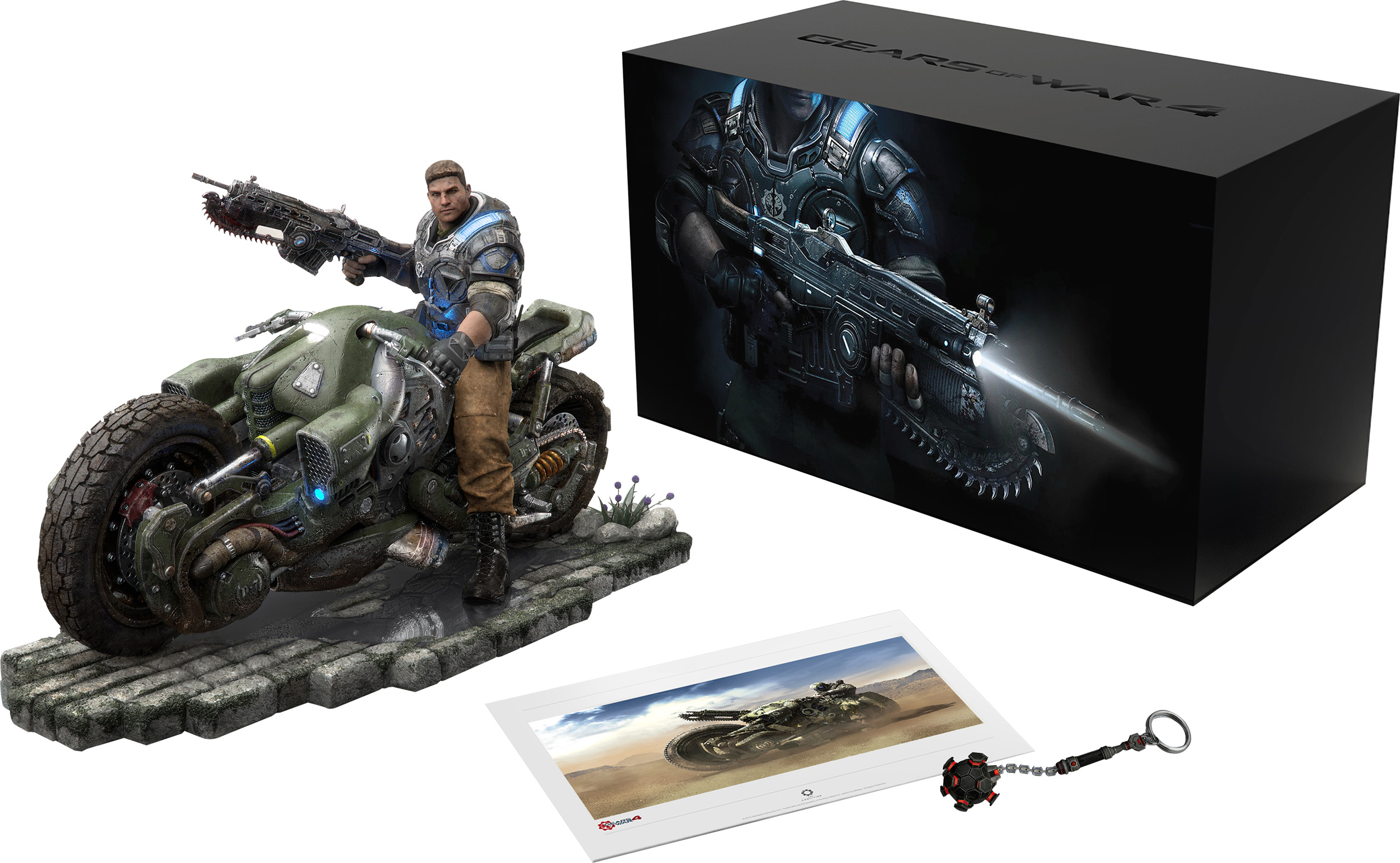 Gears of War 4: Collector's Edition (jeu non inclus)