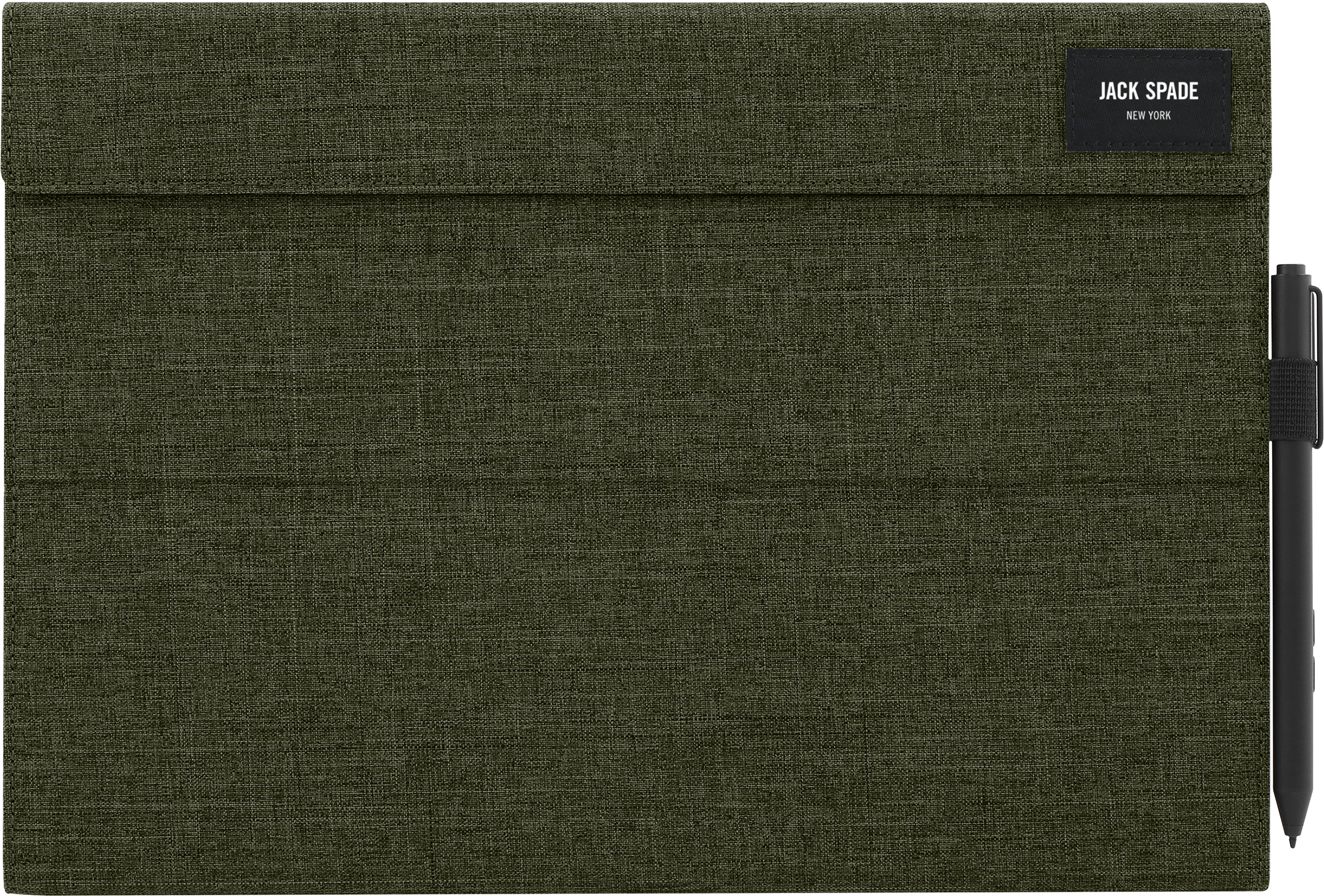 Jack Spade Wrap Folio for Surface Pro 4 (Tech Oxford Olive)