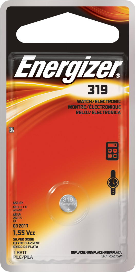 Energizer 319 Zero-Merc Button Cell Battery