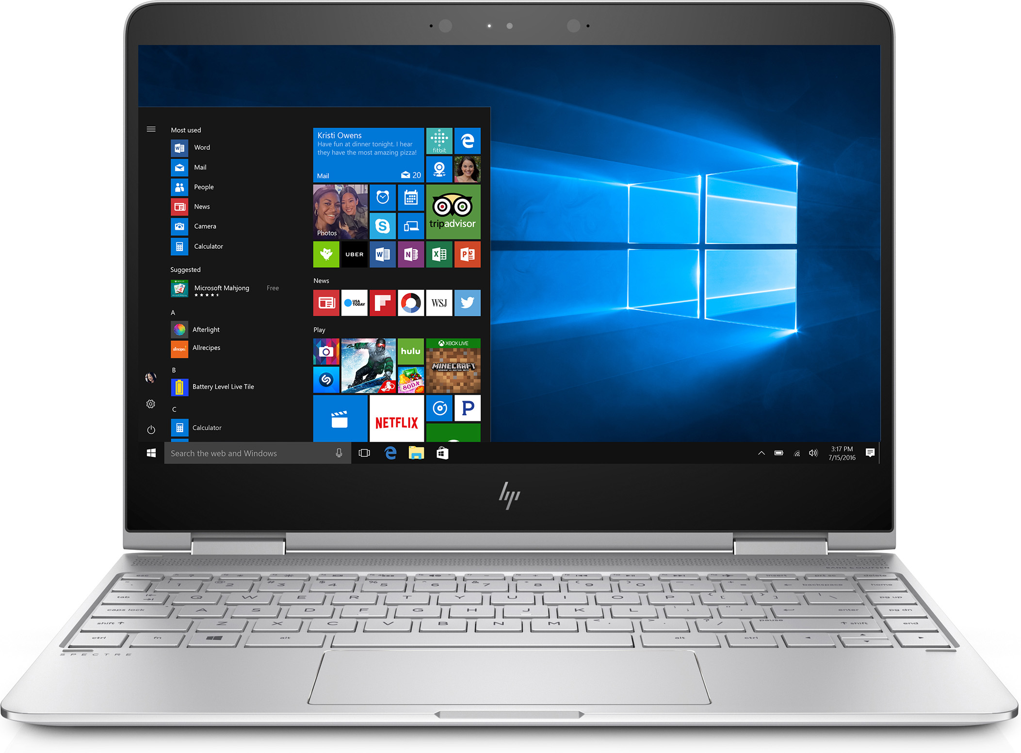 HP Spectre x360 13-w011TU 2 in 1 PC