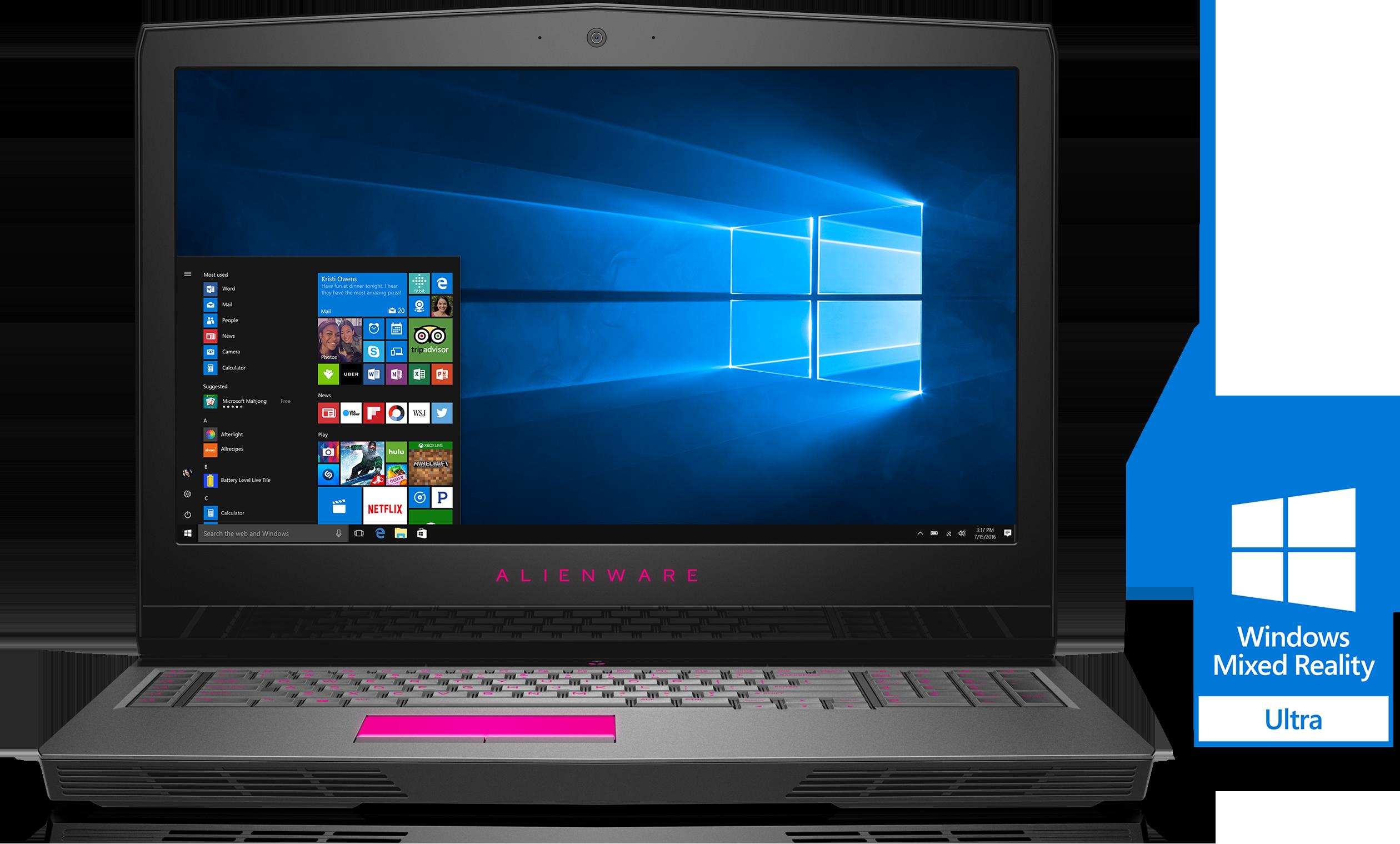 Dell Alienware 17 (i7-7700HQ/16GB/1TB) Deal