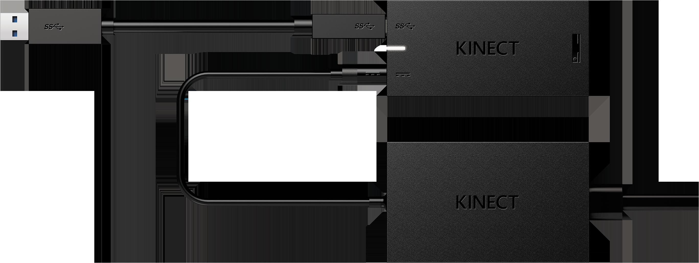 Xbox One Kinect センサー アダプター