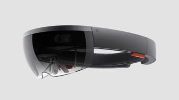 Microsoft Hololens. | Microsoft Hololens.