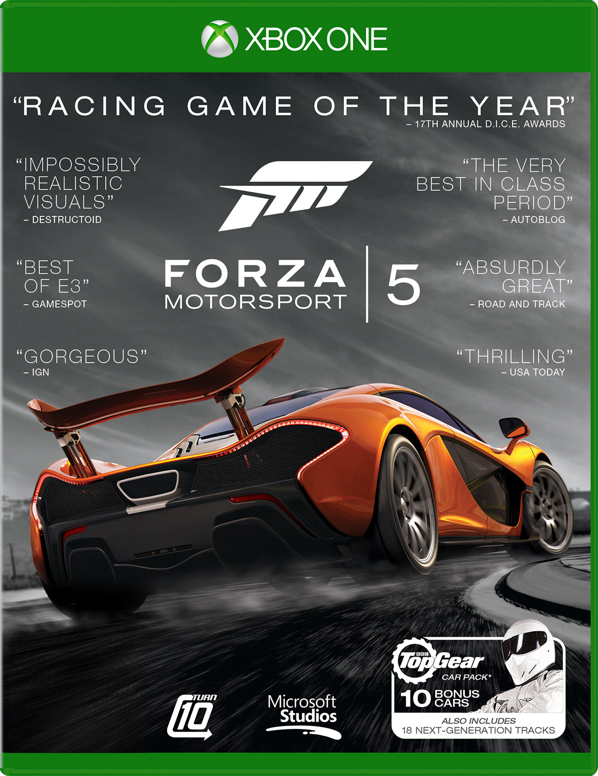Forza 5 Motorsport Racing Game of the Year Edition for Xbox One