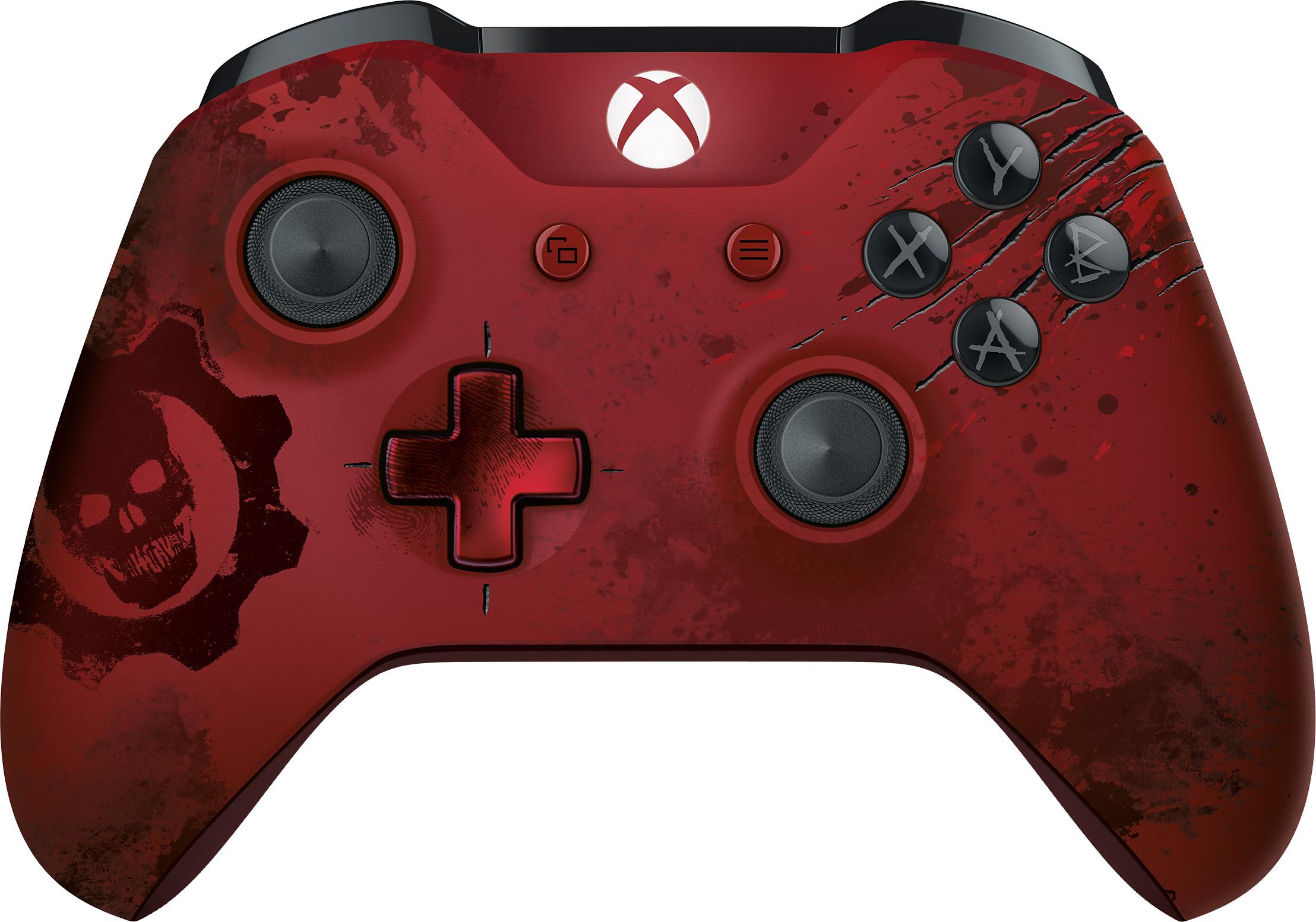 Manette sans fil Xbox Gears of War 4 Crimson Omen édition limitée