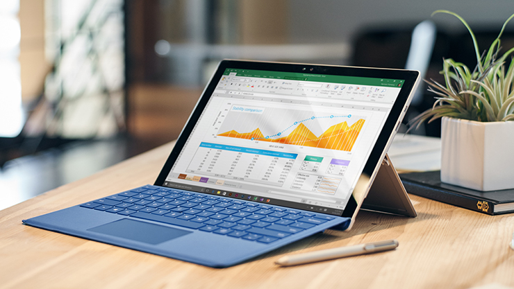 Surface with payment options.