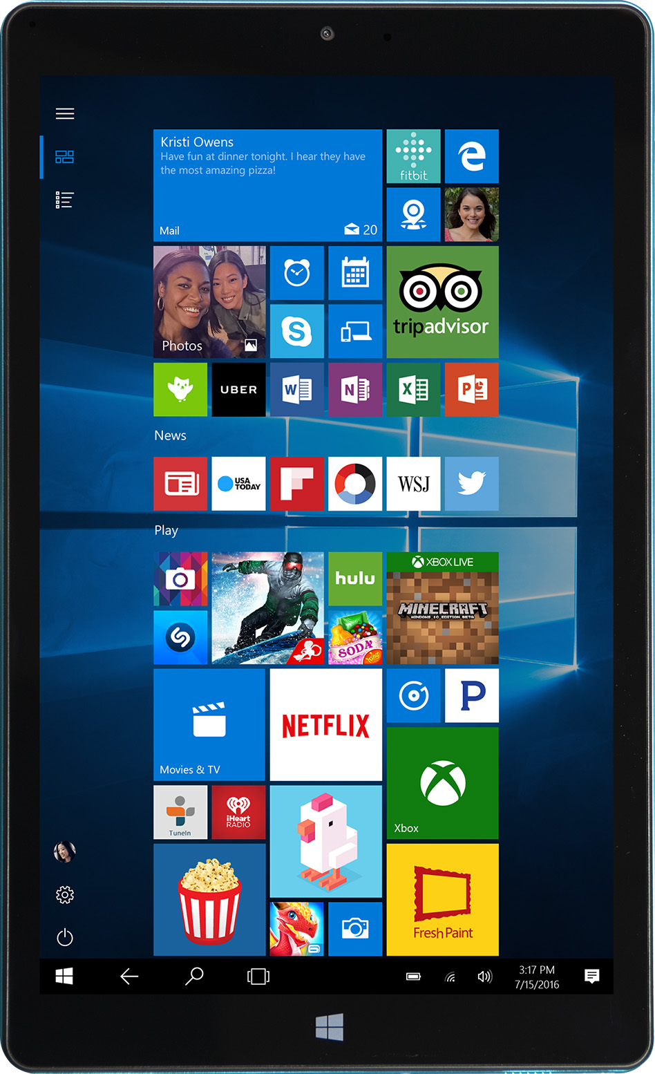 NuVision Solo 10 Draw TM101W610L Tablet