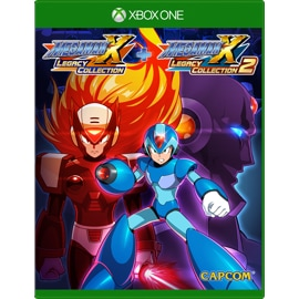 Cover of Mega Man X Legacy Collection 1 + 2