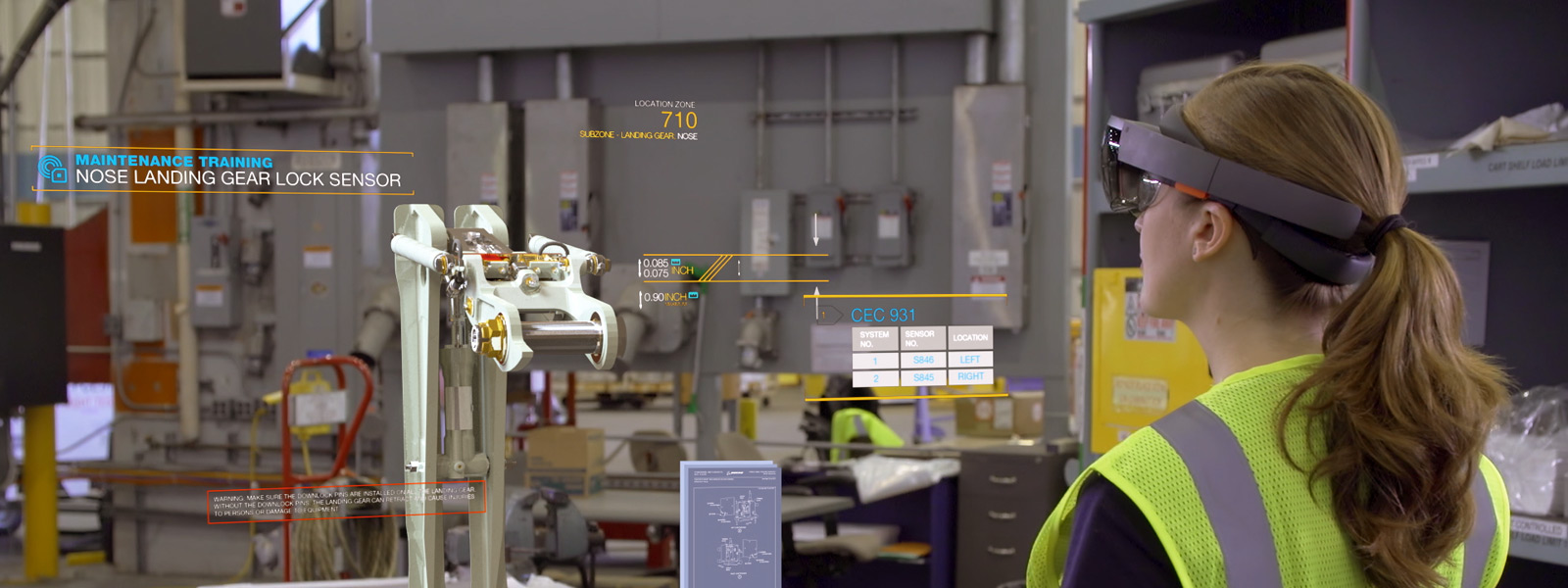 A new dimension of work Microsoft HoloLens