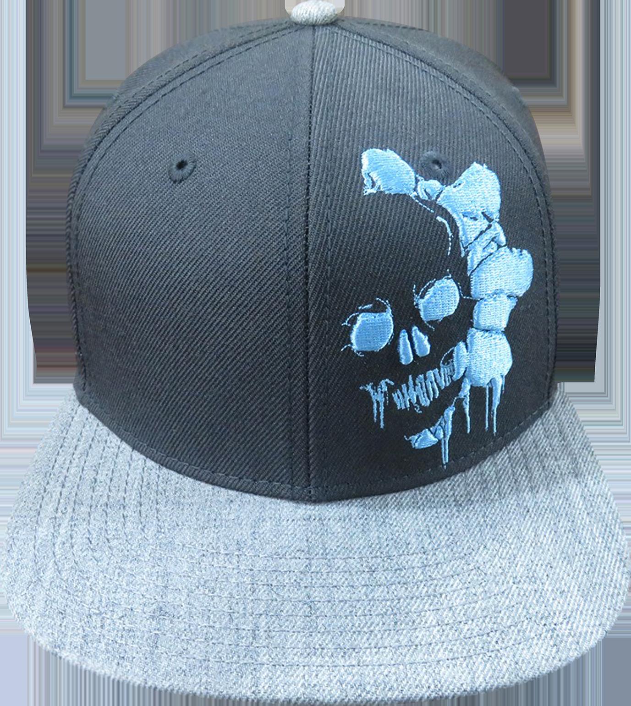 fa8f4ce5 Blue Omen Snapback Hat