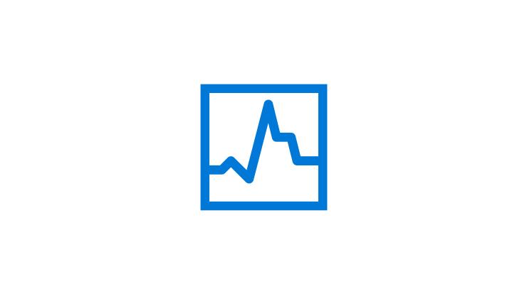Ett kurvdiagram som visar hastighet och prestanda