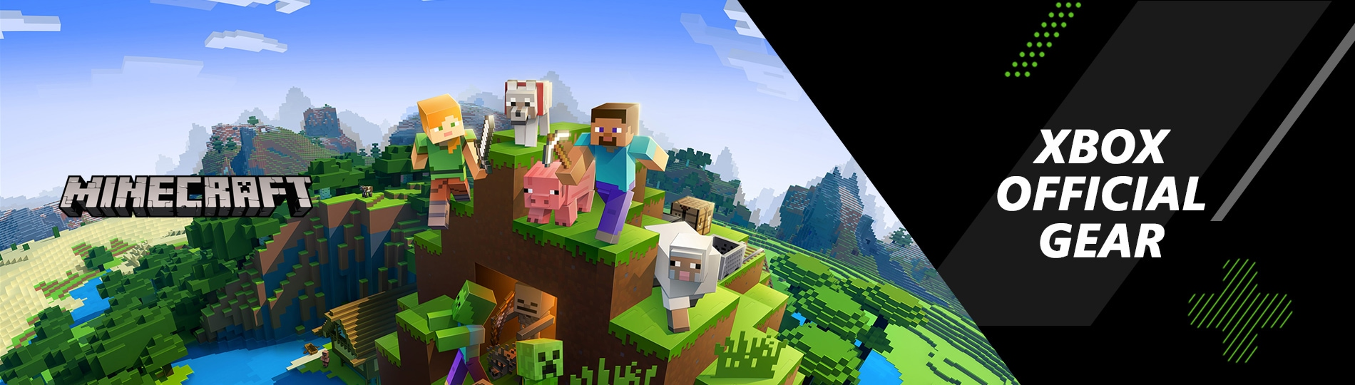 Buy Minecraft Merchandise Xbox Official Gear Microsoft