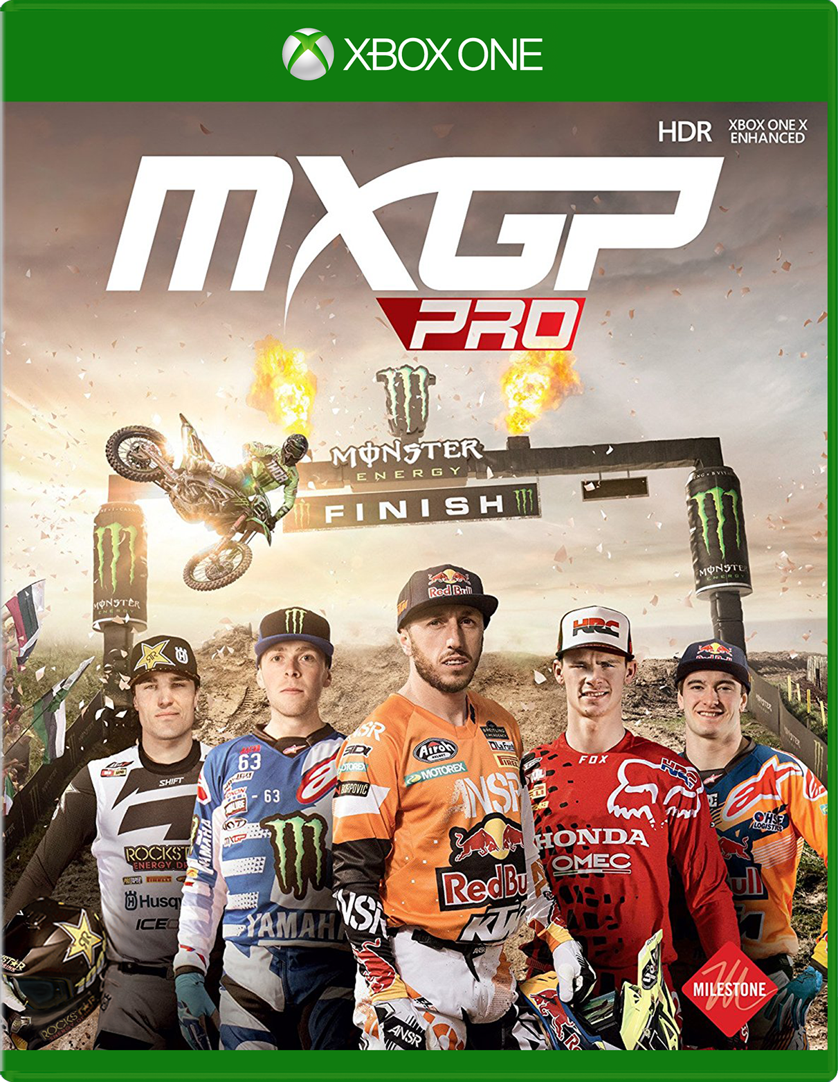 Cover of MXGP Pro for Xbox One