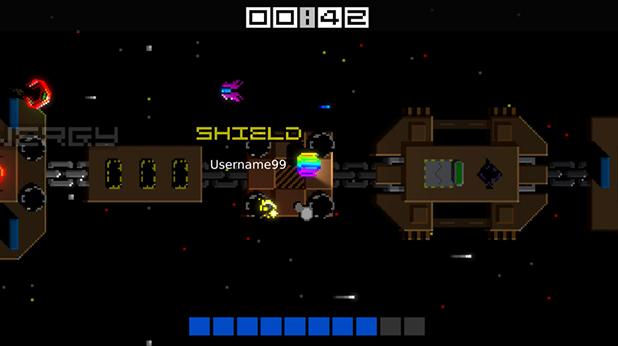 Screenshot of gameplay from Next Up Hero