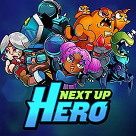 Next Up Hero, коллаж из изображений разных героев