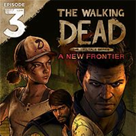 The Walking Dead: Season Three - A New Frontier, collage of three characters