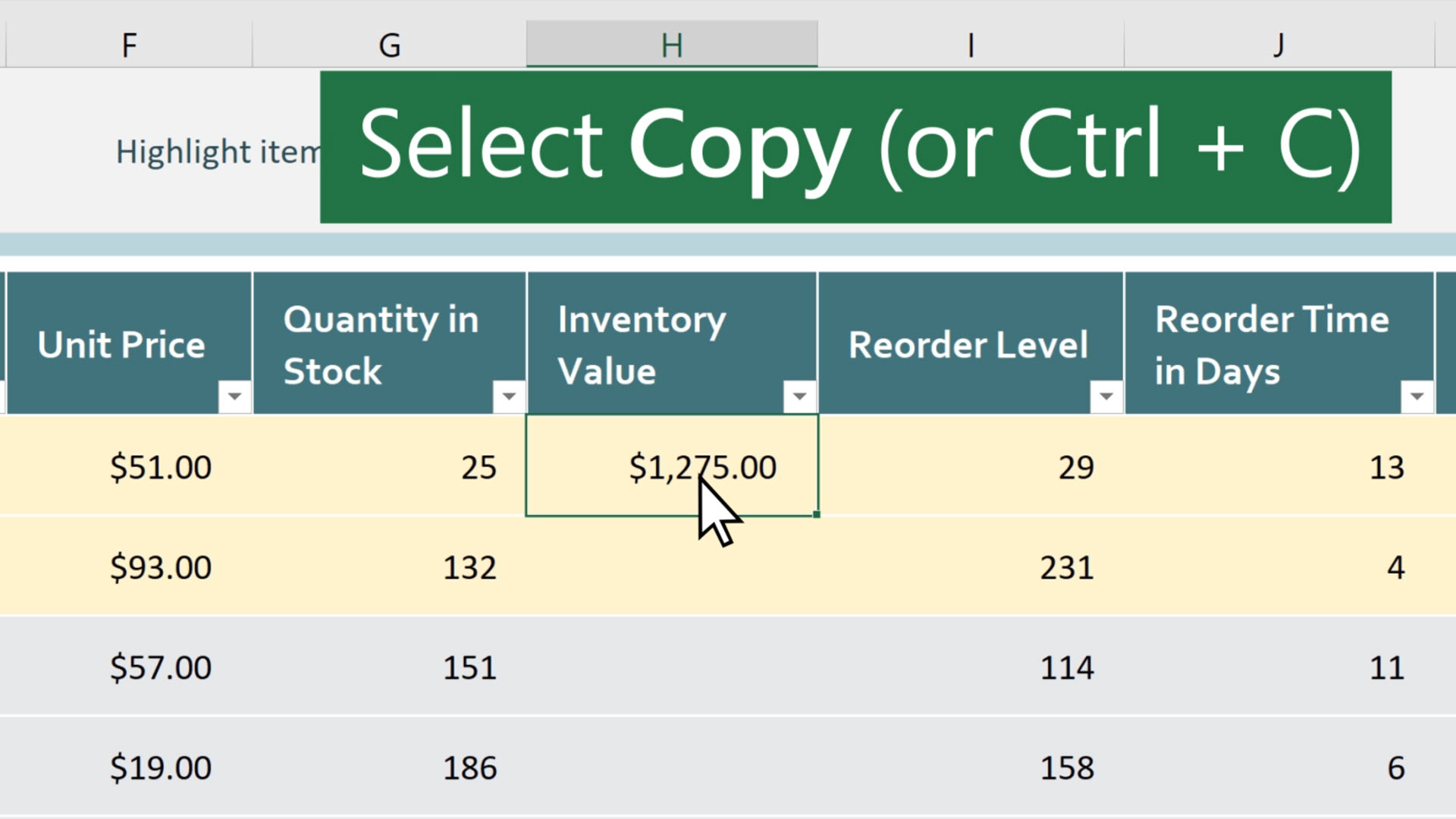 Move or copy cells and cell contents - Excel