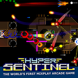 Hyper Sentinel, image of mixplay arcade gameplay