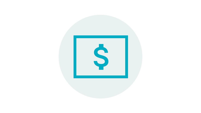 Dollar sign symbol