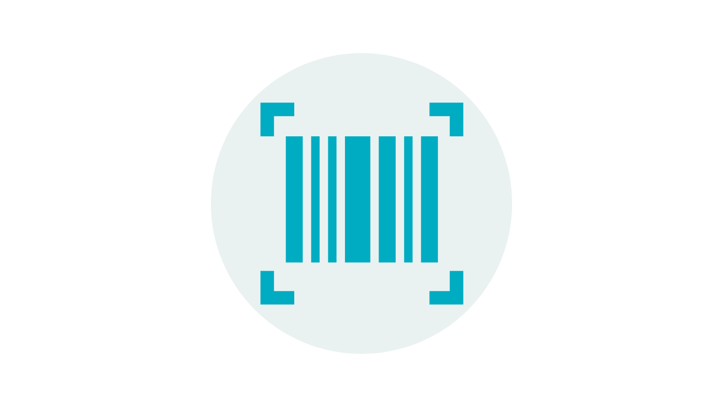 Symbol of a barcode