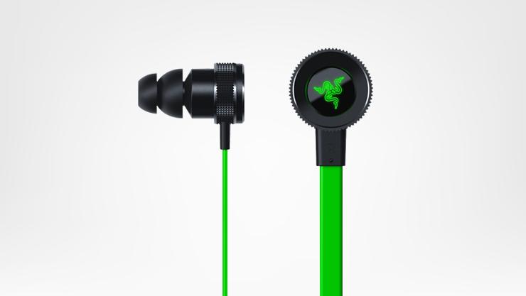 Green and black hammerhead Headphones