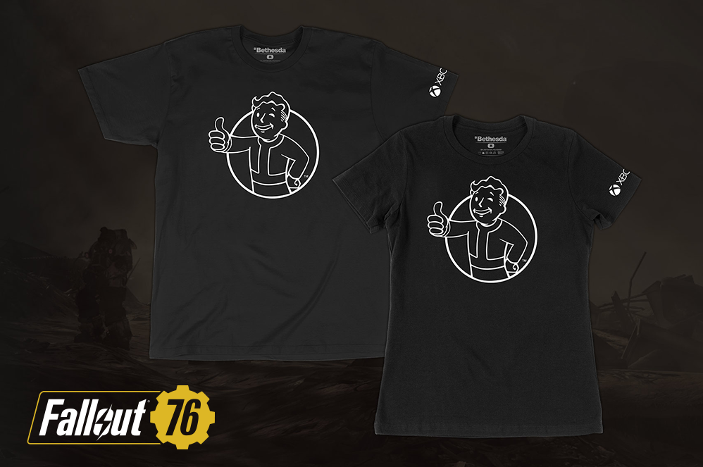 Fallout mens and womens t-shirts
