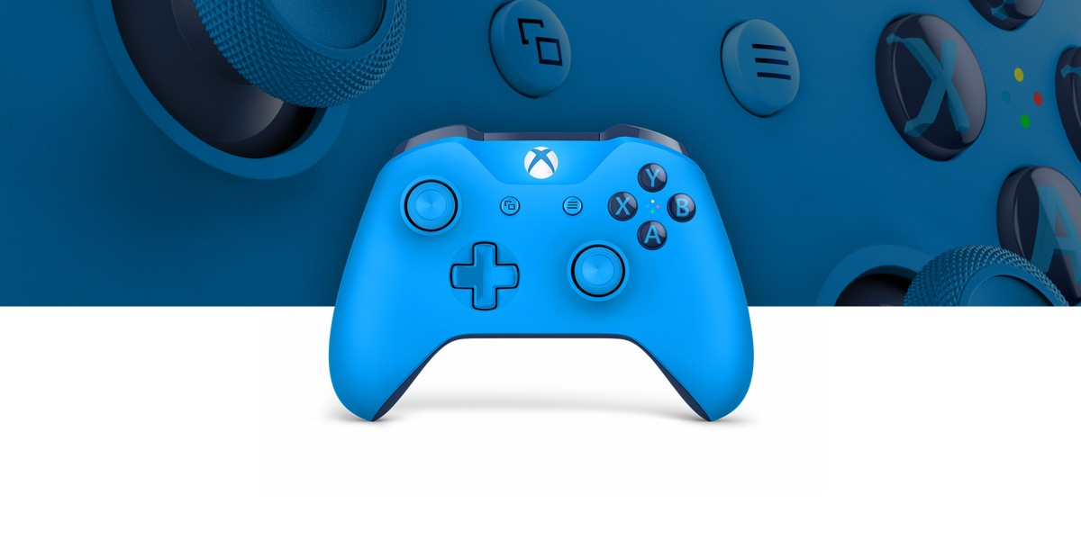 Xbox Blue Wireless Controller