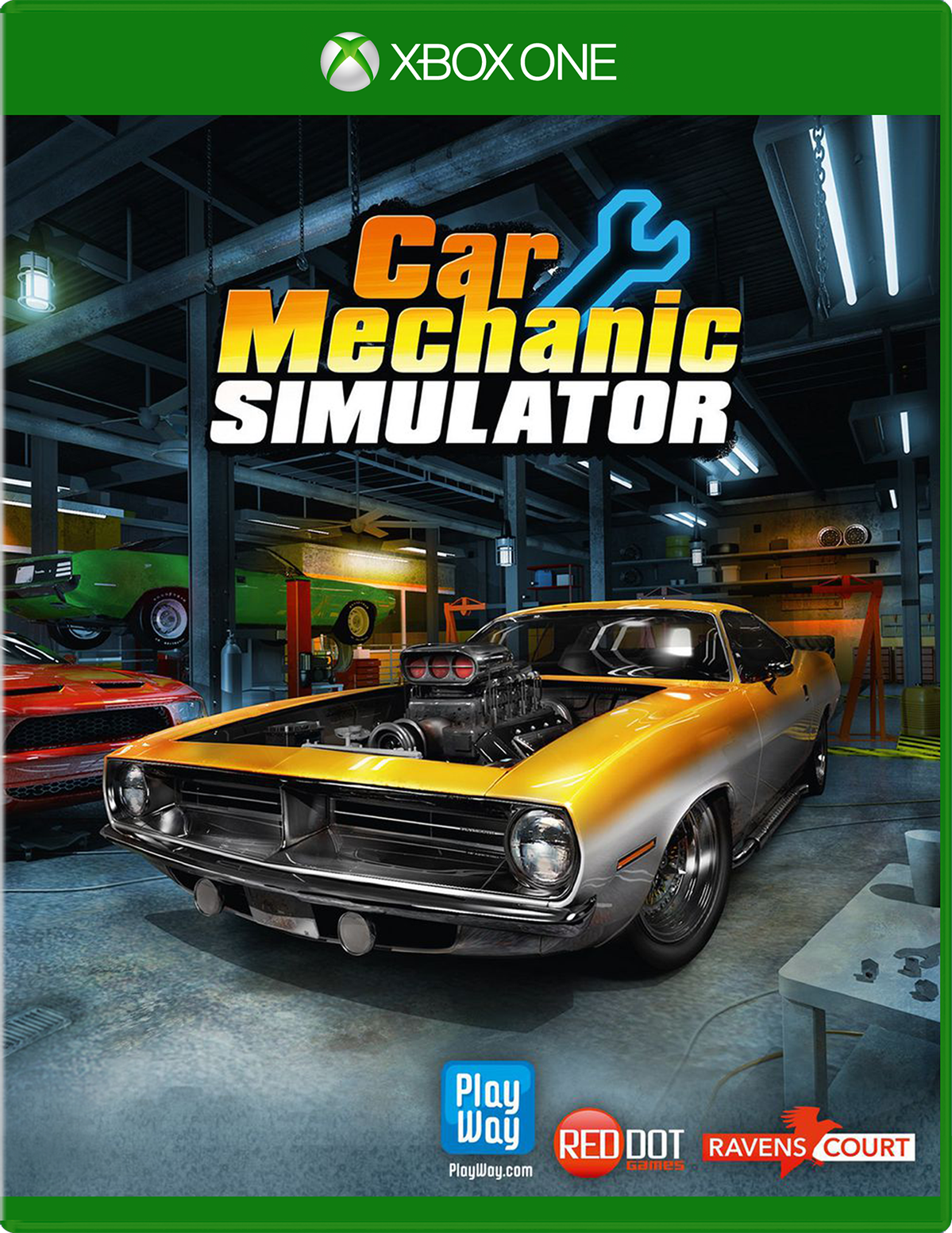 Cover of Car Mechanic Simulator for Xbox One