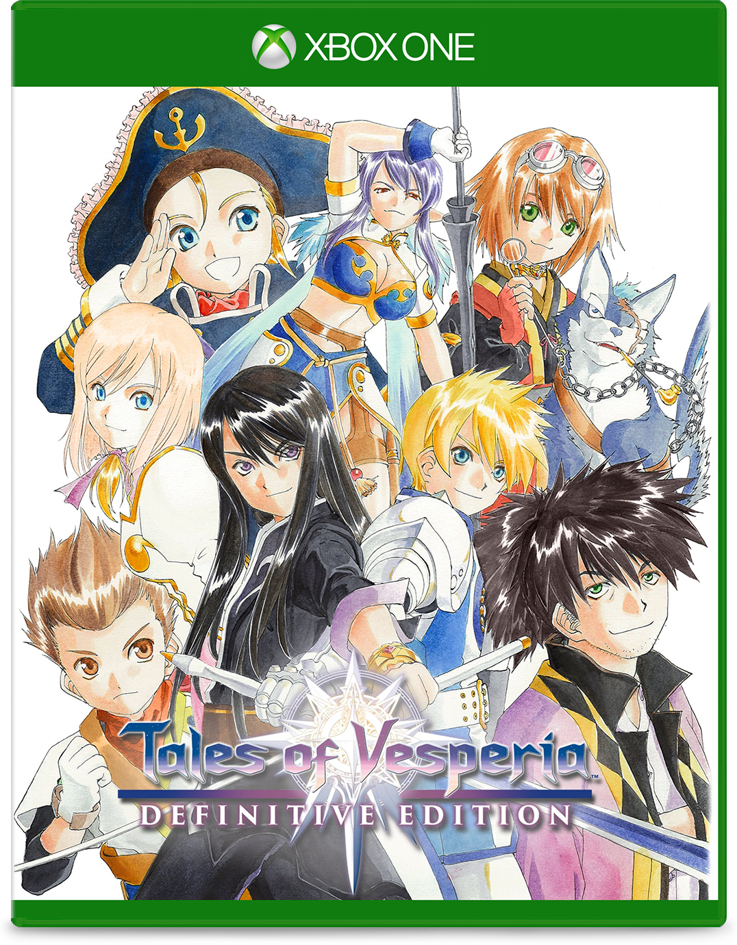 Cover of Tales of Vesperia Definitive Edition for Xbox One
