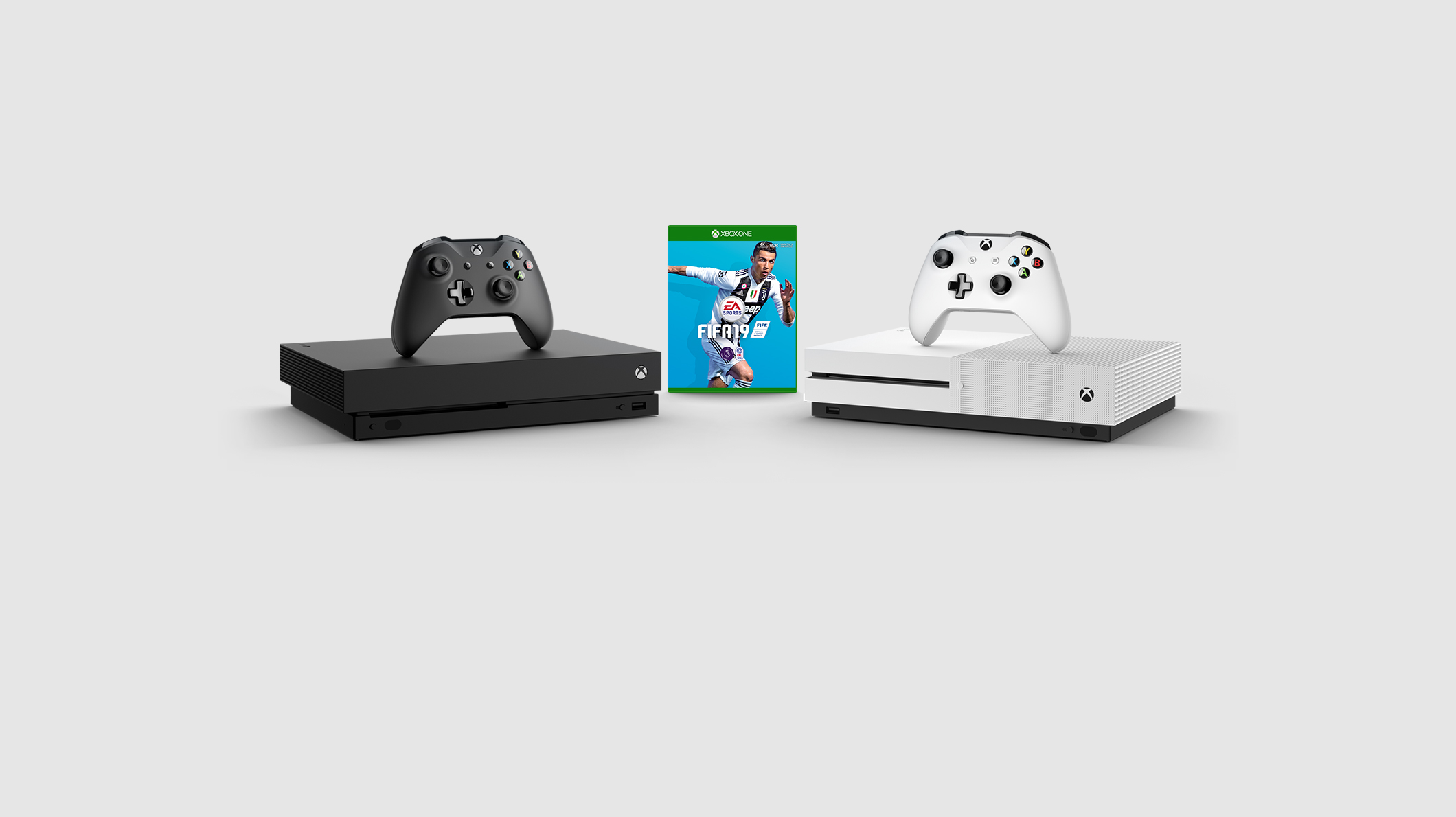 Pack Xbox One X 1 To + FIFA 19