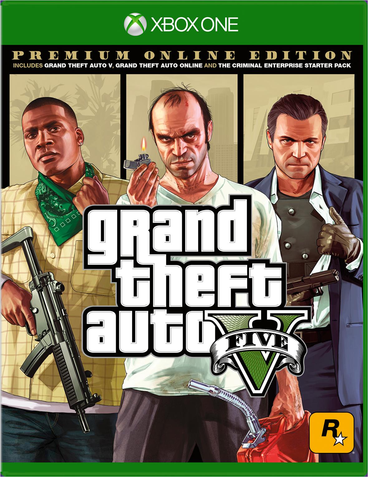 Cover of Grand Theft Auto 5 Premium Online Edition