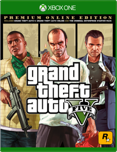 Grand Theft Auto V: Premium Online Edition for Xbox One