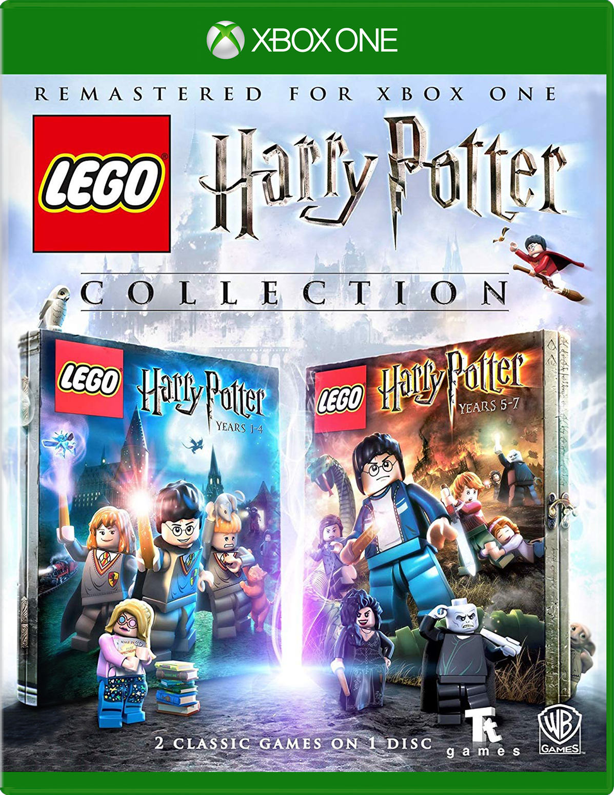 Cover of Lego Harry Potter Collection for Xbox One