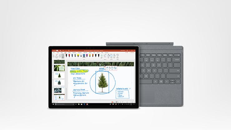Surface Pro con Teclado