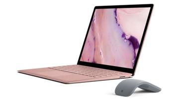 合上屏幕的 Surface Laptop 2 電腦