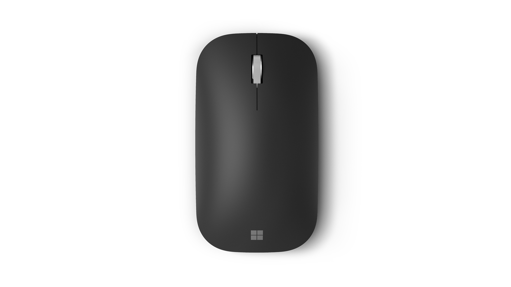 Closeup birdseye view of the Surface Mobile Mouse