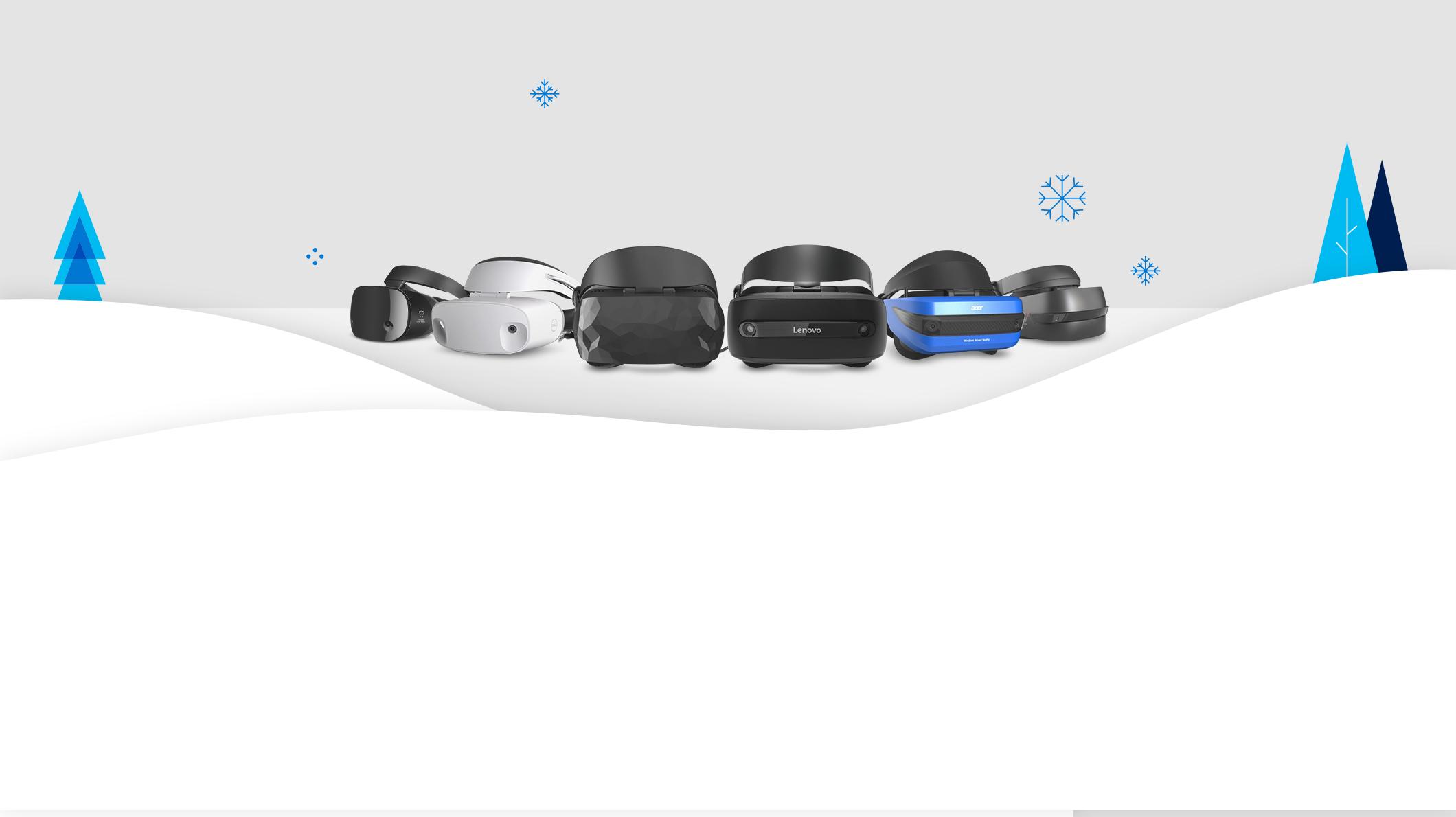 Dell visor, mixed reality headsets, HP, ASUS