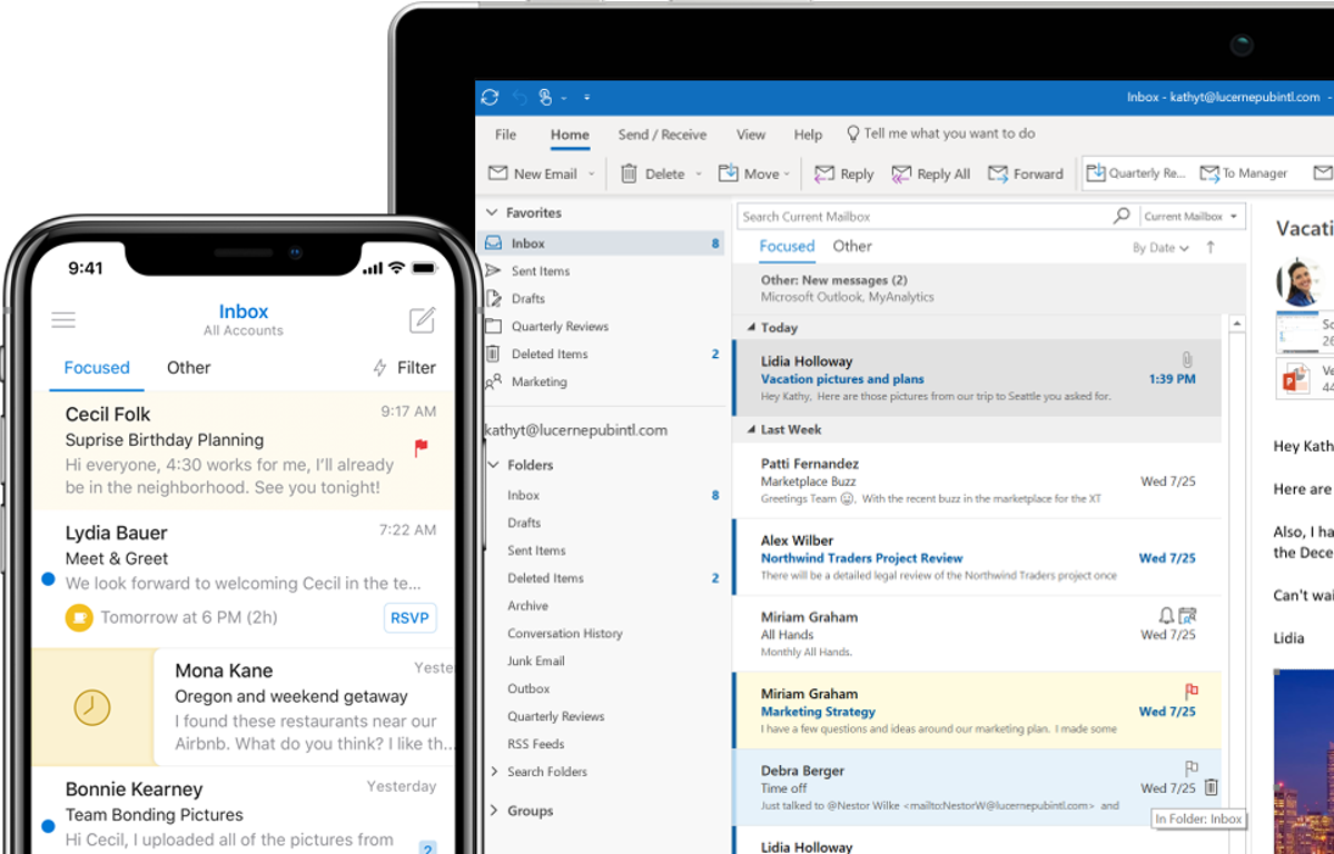 761f4149cda9d1 Microsoft Outlook - Email and Calendar