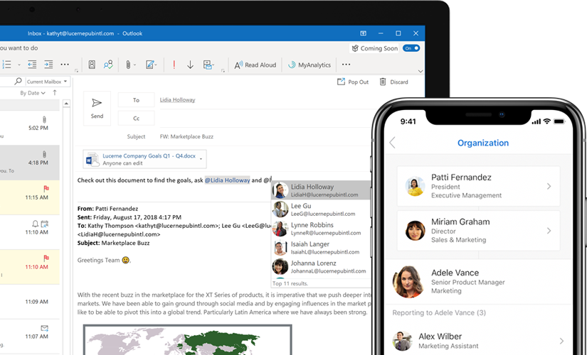Microsoft Outlook Email And Calendar