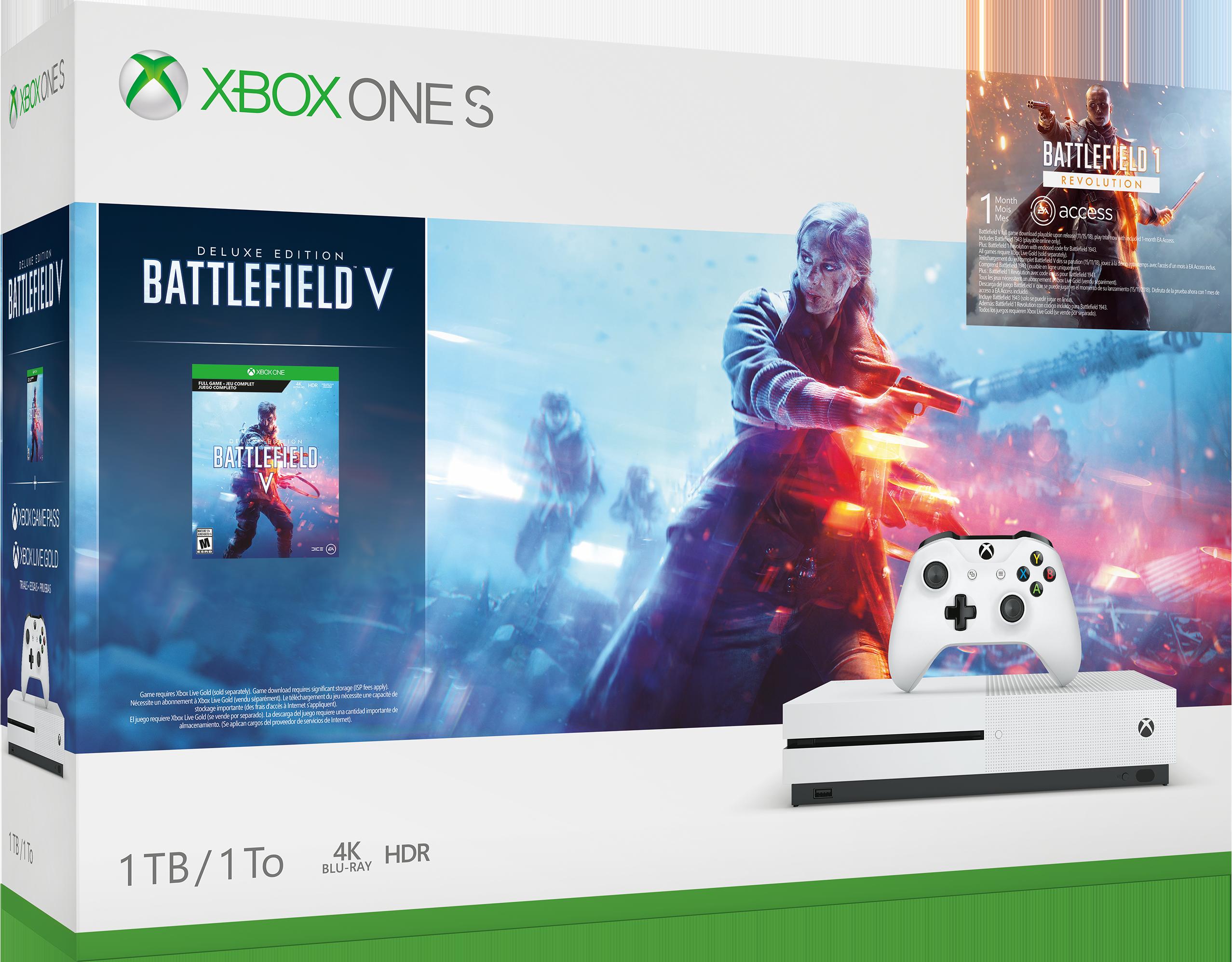 Image of Console Xbox S 1 TB – Pacchetto Battlefield™ V
