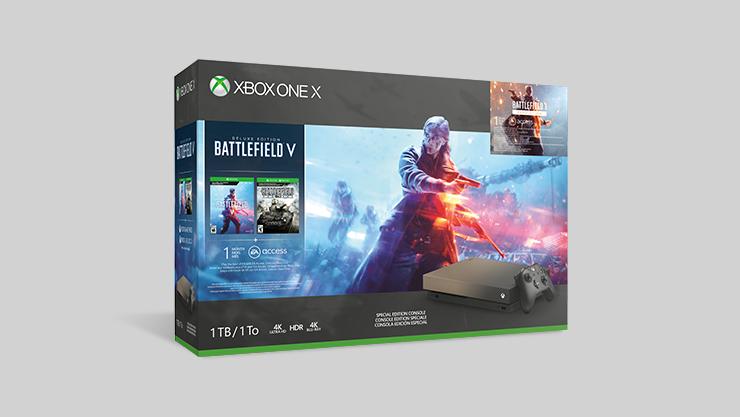 Xbox One X mit Battlefield V
