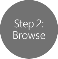 Step 2: Browse