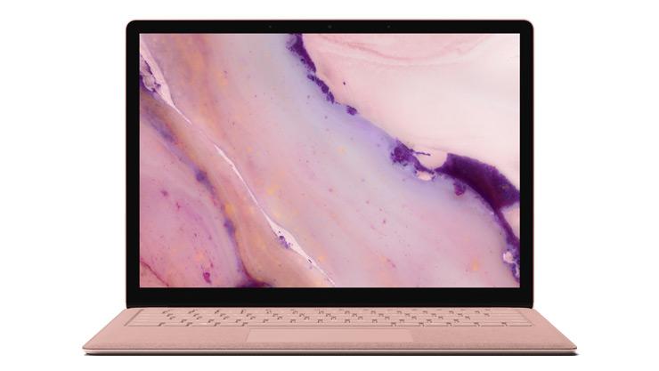 Surface Laptop 2 电脑正视图