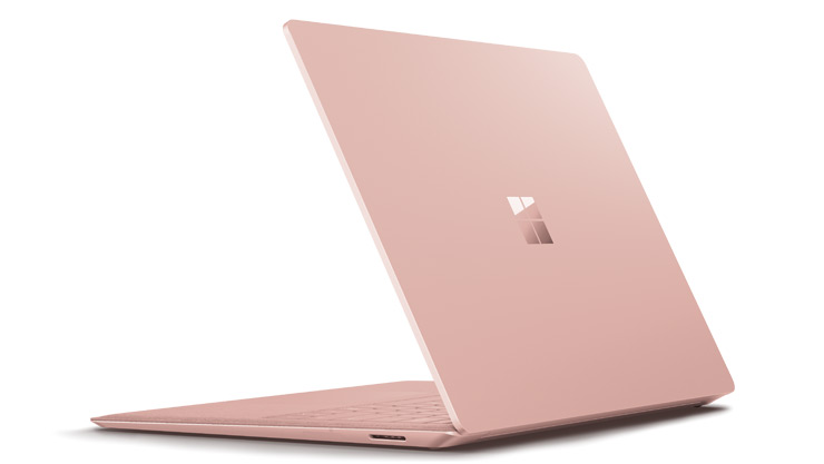 Surface Laptop 2 电脑左侧视图