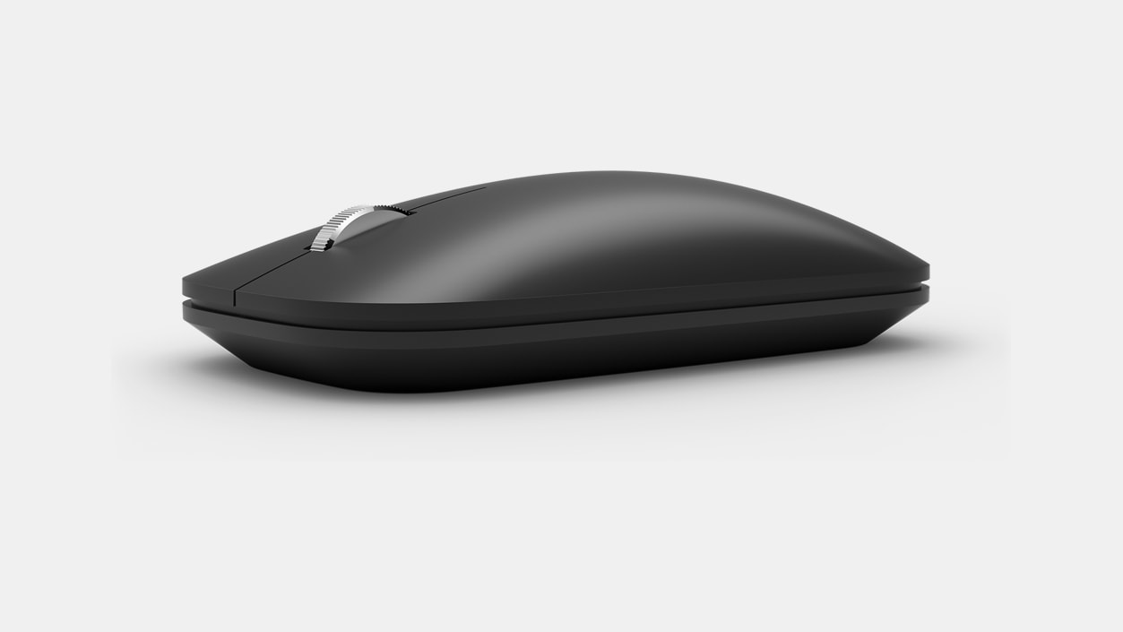 Left view of the Surface Mobile Mouse