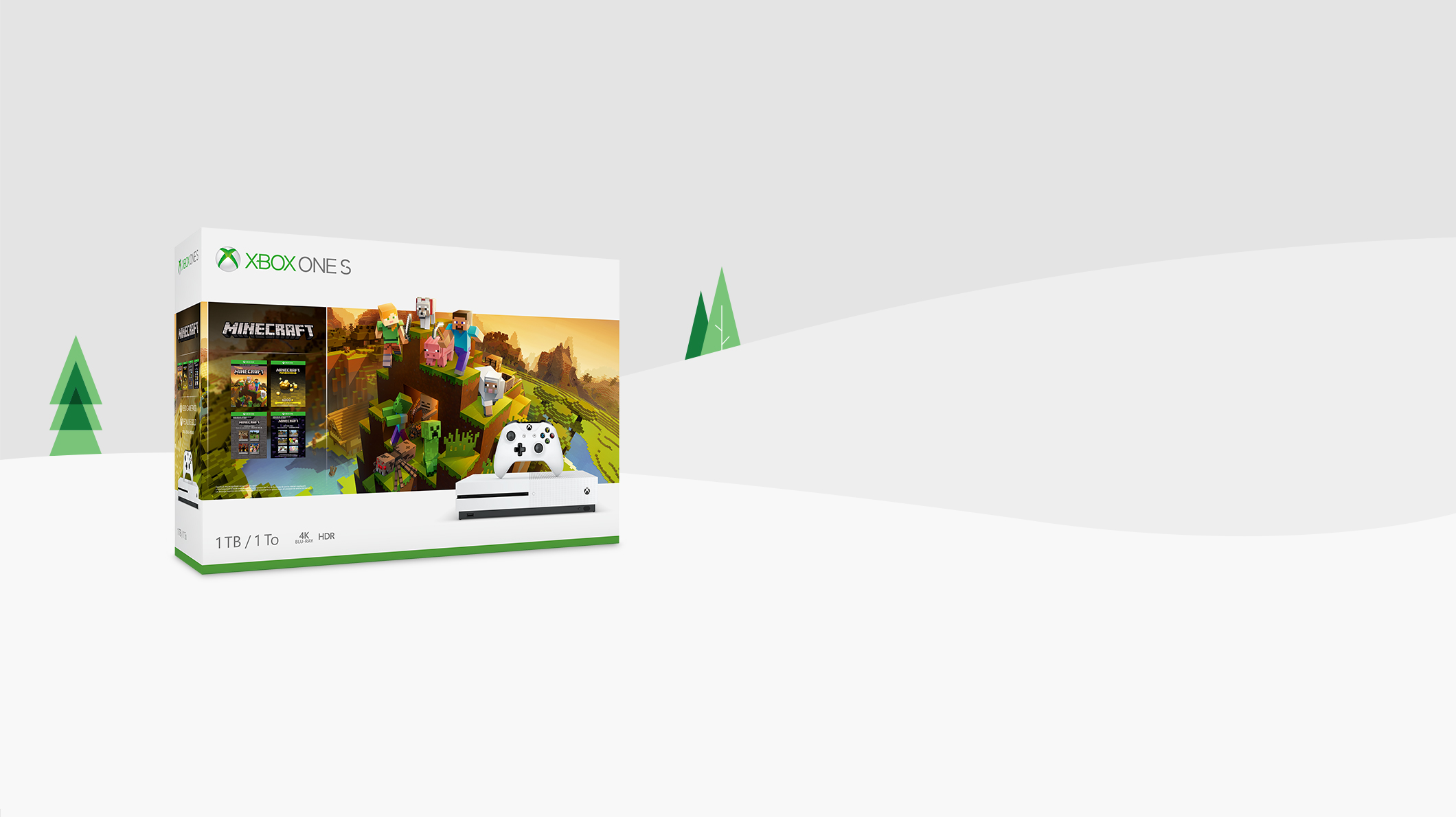 Xbox One S Minecraft Creators-bundel