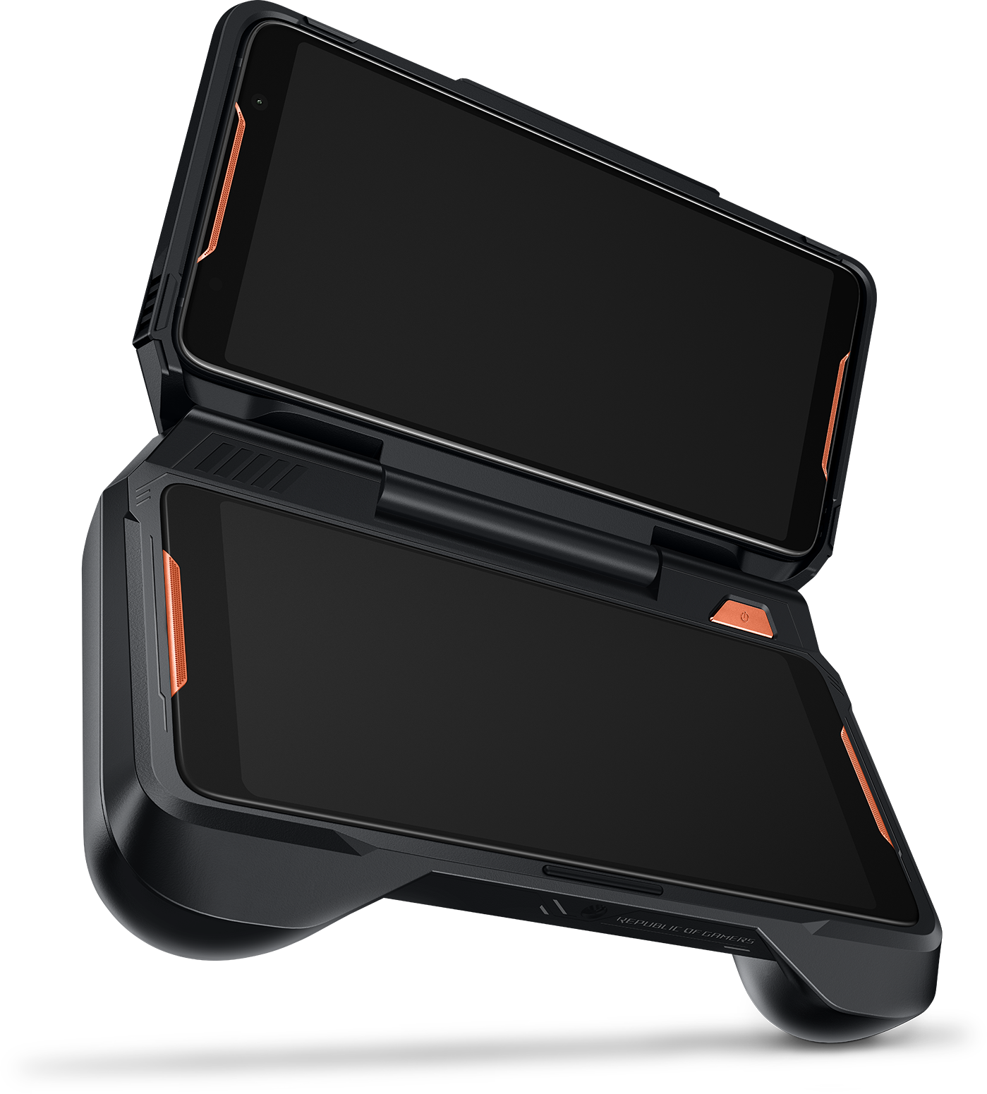 Interior view of the Asus ROG TwinView Dock