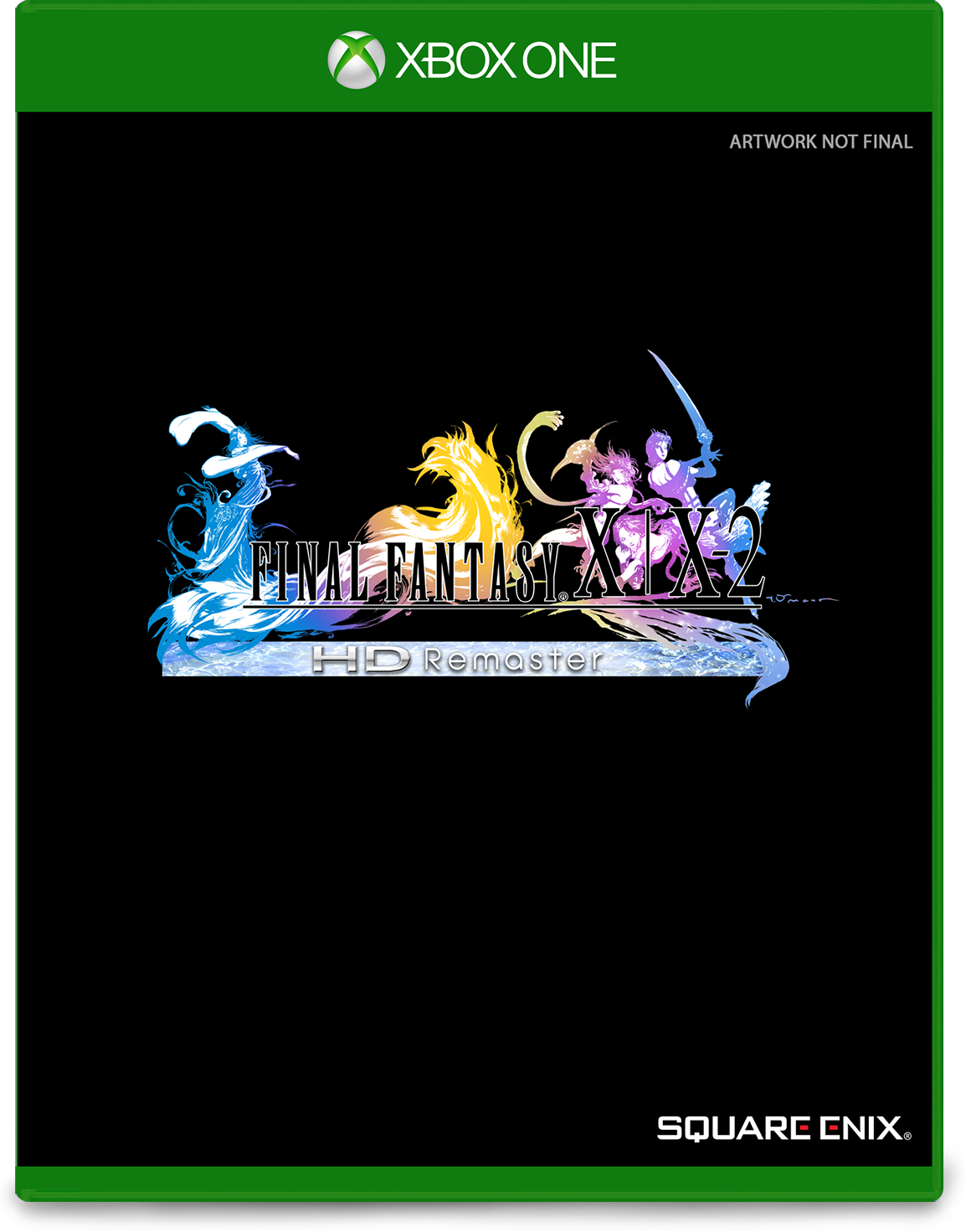 Cover of Final Fantasy X-X2 for Xbox One